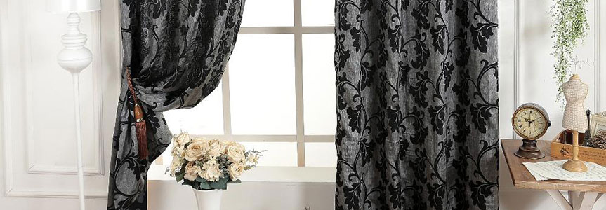 Пошив штор из жаккардовой ткани