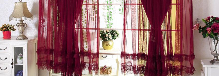 Портьерные ткани из синтетических волокон: практичность и привлекательность