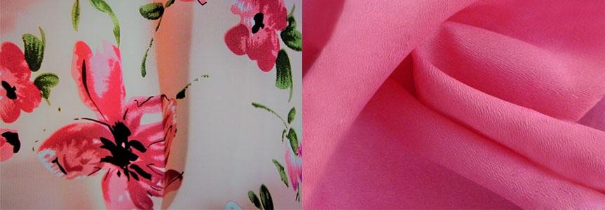 Шифон, крепдешин и другие лёгкие ткани для пошива летних вещей