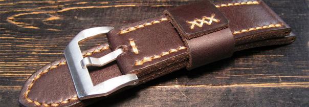 Ремешки для часов и браслеты из натуральной кожи