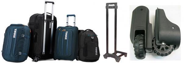 Всё для ремонта чемоданов: ручки, колёса, колёсные блоки