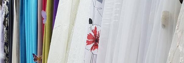 Портьерные ткани для штор разных типов